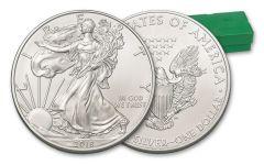 2018 1 Dollar 1-oz Silver Eagle BU 500-Coin Monster Box