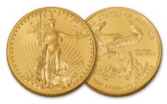 2018 10 Dollar 1/4-oz Gold Eagle BU