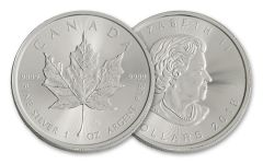 2018 Canada 1-oz Silver Maple Leaf Brilliant Uncirculated