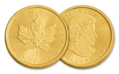 2018 Canada 1-oz Gold Maple Leaf Brilliant Uncirculated