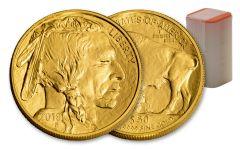 2018 50 Dollar 1-oz Gold Buffalo BU 20-Coin Roll