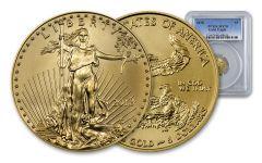 2018 5 Dollar 1/10-oz Gold Eagle PCGS MS70