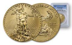 2018 50 Dollar 1-oz Gold Eagle PCGS MS70