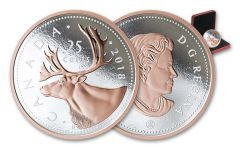 2018 Canada 25 Cent 5-oz Silver Big Coin Series Proof