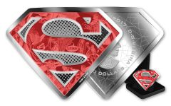 2017 Canada 10 Ounce $100 Silver Superman Shield Proof
