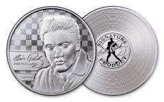 2018 1-oz Silver Elvis Proof-Like Commemorative