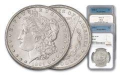 1898-1901-O Morgan Silver Dollar NGC/PCGS MS64 4pc Set