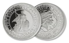 2018 Niue 1 Dollar 1-oz Silver British Trade Dollar Proof