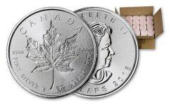 2018 Canada 1-oz Silver Incuse Maple Leaf BU Monster Box