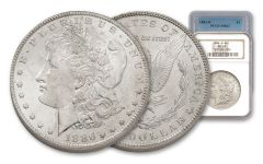 1883-1902-O Morgan Silver Dollar NGC/PCGS MS63 7pc