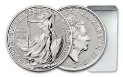 2018 Great Britain 1-oz Silver Oriental Border Britannia BU- 20pc Roll