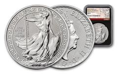 2018 Great Britain 1-oz Silver Oriental Britannia NGC MS69 First Releases - Black
