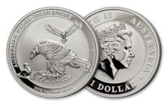 2018 Australia 1 Dollar 1-oz Silver Wedge Tailed Eagle Uncirculated