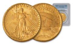 1908-1928 20 Dollar Saint Gaudens NGC/PCGS MS65