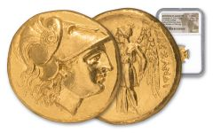 323-280 B.C. Greek Gold Alexander Stater Tarsus NGC MS Star