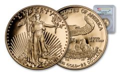 2018-W 25 Dollar 1/2-oz Gold Eagle PCGS PR70DCAM First Strike