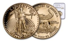 2018-W 25 Dollar 1/2-oz Gold Eagle NGC PF69UCAM