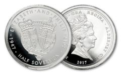 2017 Great Britian Platinum Half Sovereign Proof