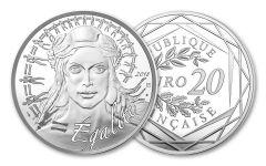 2018 France 10 Euro Silver Marianne BU
