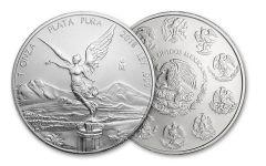 2018 Mexico 1-oz Silver Libertad BU