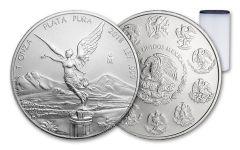 2018 Mexico 1-oz Silver Libertad BU 25-Coin Roll