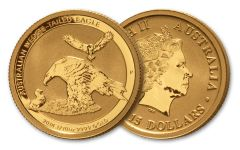 2018 Australia Tenth-Ounce-Gold Wedge Tailed Eagle Uncirculated
