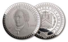 1903 Smithsonian Institution Morgan Treasury Hamilton Medal 1-oz Silver Proof