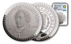 1903 Smithsonian Institution Morgan Treasury Medal 1-oz Silver NGC Gem Proof