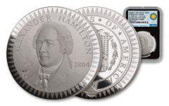 1903 Smithsonian Institution Morgan Treasury Medal 1-oz Silver NGC PF70UC - Black Core