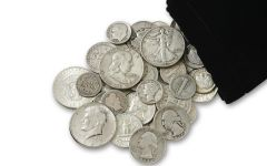 1892-1964 United States Silver Coins Half Pound Bag
