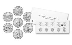2017 America The Beautiful Quarter Circulating Coin Set