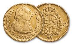 United States First Gold Dollar Half Escudo VF