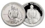 1982 50 Cent Washington Proof BU-2 Piece Set