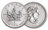 2012 Canada 5 Dollar 1-oz Silver Maple Leaf BU