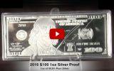 2016 $100 Franklin Proof