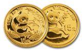 2007 China Gold Panda 25th Anniv. 25pc Set