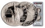 1986-S Statue of Liberty Half Dollar PCGS PR69 Mercanti Signed