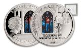 2014 Cook Islands 10 Dollar Silver Washington Cathedral Proof-Like