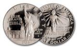 1986-2000 1 Dollar Landmark 3 Piece Set PCGS PR68DC Mercanti Signed