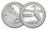 2015 US America the Beautiful Quarters Uncirculated Set