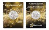 2016 1 Dollar 1-oz Silver Eagle BU Congratulations Coin Pack