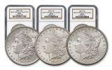 1883-1885-O Morgan Silver Dollar 3pc Set NGC MS65 - Great Montana Collection