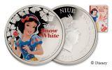 2015 Niue 1-oz Silver Disney Snow White Proof
