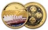 2009 Canada 250 Dollar After the Flood Vancouver Silver Kilo PF70 w/ 3 Piece Gold