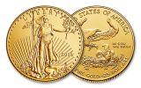 2016 25 Dollar 1/2-oz Gold Eagle BU