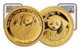 2015-2016 China Gold 1/10-oz Smithsonian Panda Sibling 2-Piece Set NGC PF69UC
