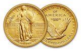 2016-W 1/4-oz Gold Centennial Standing Liberty Quarter Specimen
