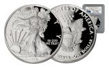 2016-W 1 Dollar 1-oz Silver Eagle Proof NGC PF70 First Strike