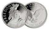 1-oz Silver Freedom Round Proof-Like