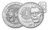 2017 1 Dollar Silver Lions Club Commemorative NGC MS70